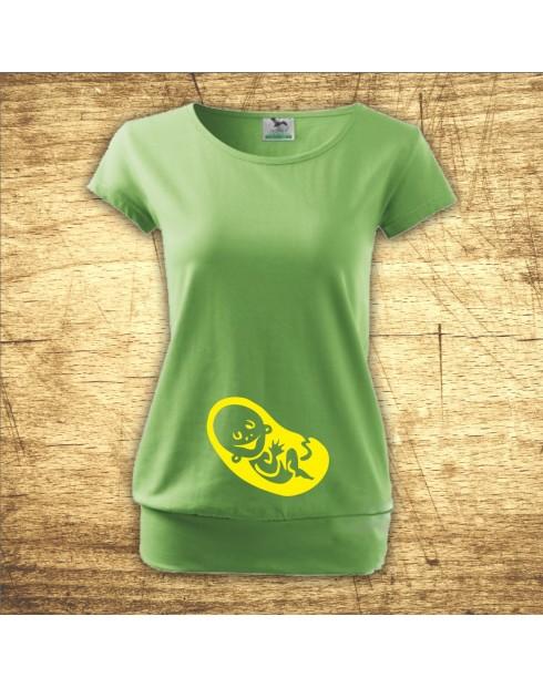 Těhotenské tričko Baby