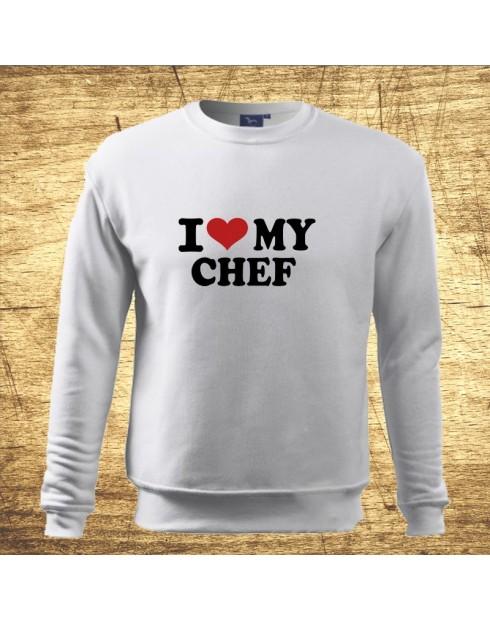 I love my chef