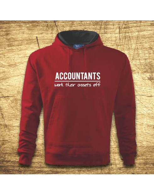 Accountants work their assets off