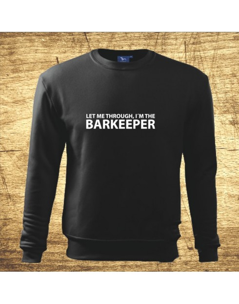 Let me through, I´m the barkeeper