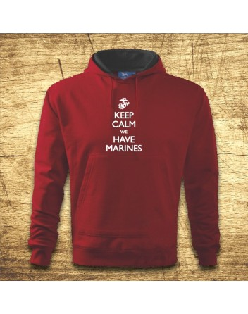 Keep calm , we have marines