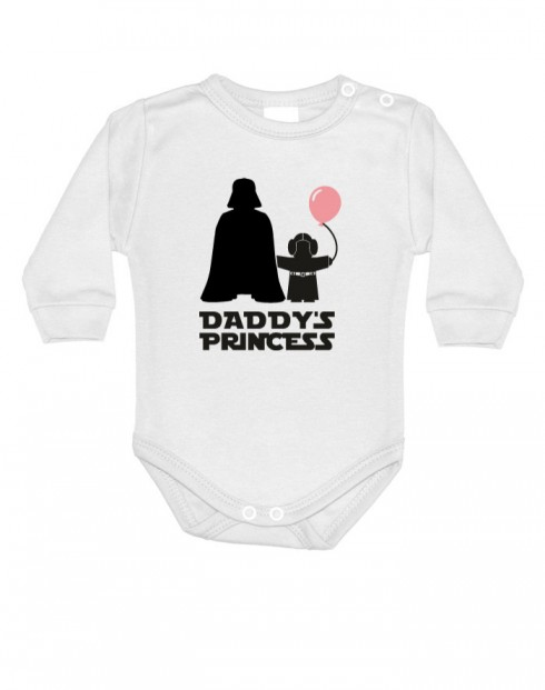 Body s potlačou Star Wars Daddys Princess