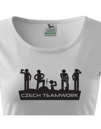 Dámské tričko Czech teamwork